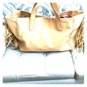 🔥SALE 🔥Express fringe tote purse